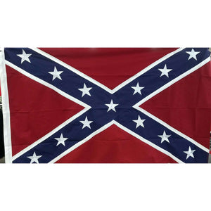 3'x 5' -300 Denier Stitched Nylon Confederate Flag