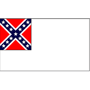3'x5' 2nd Confederate Polyester Flag