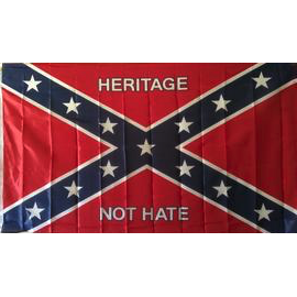 3'x5' Heritage Not Hate V.2 Confederate Flag