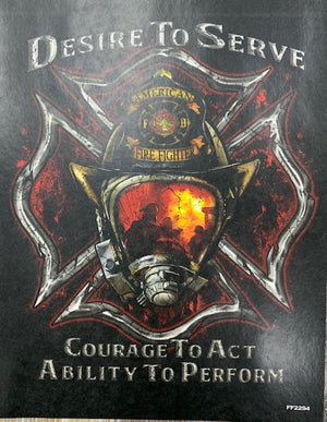 Desire To Serve (Fire Fighter) T-shirt