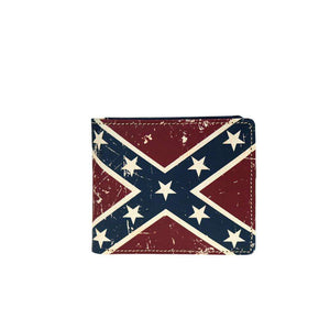 Vintage Confederate Flag Wallet