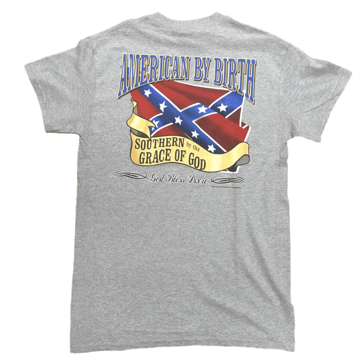 American By Birth, Southern By The Grace Of God T-Shirt
