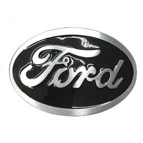 Black Ford Belt Buckle