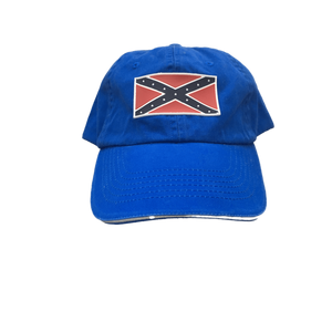 Blue Confederate Flag Hat