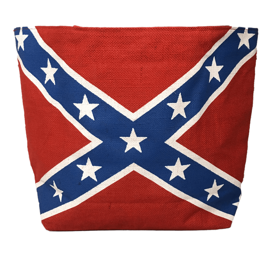 Canvas Rebel Flag Tote