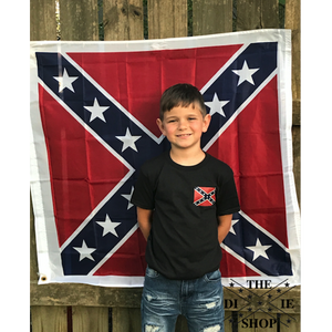 Classic Confederate Flag T-Shirt (Youth)