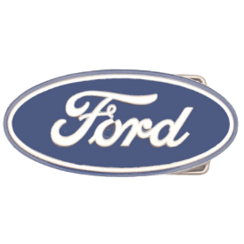 Classic Ford Belt Buckle