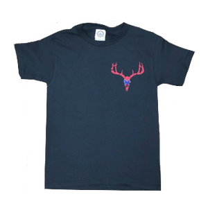 Confederate Deer Skull T-Shirt (Youth)