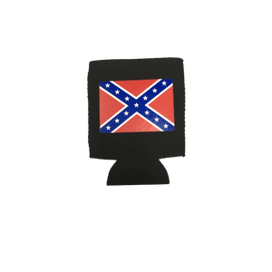 Confederate Flag Can Koozie