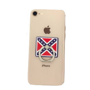 Confederate Flag Cell Phone Ring w/ Kickstand