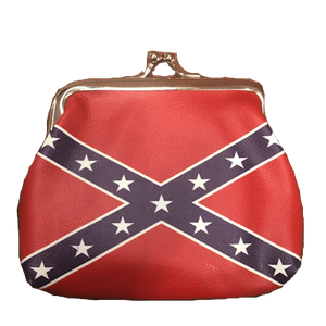Confederate Flag Coin Purse