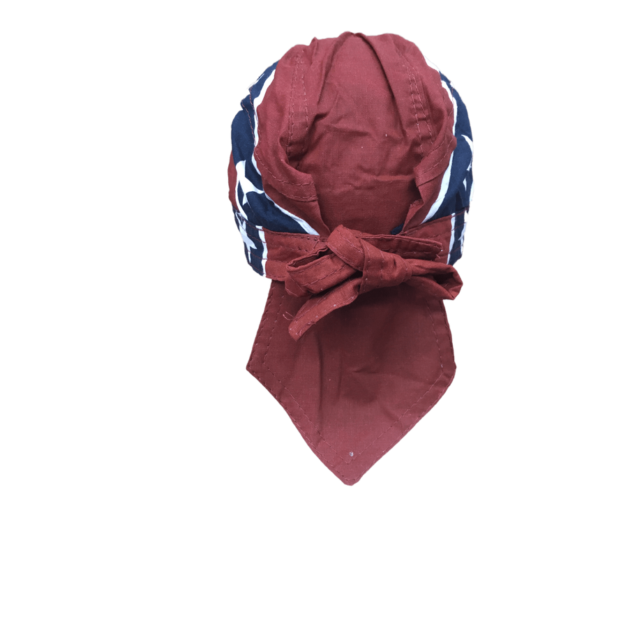 Confederate Flag Head Wrap