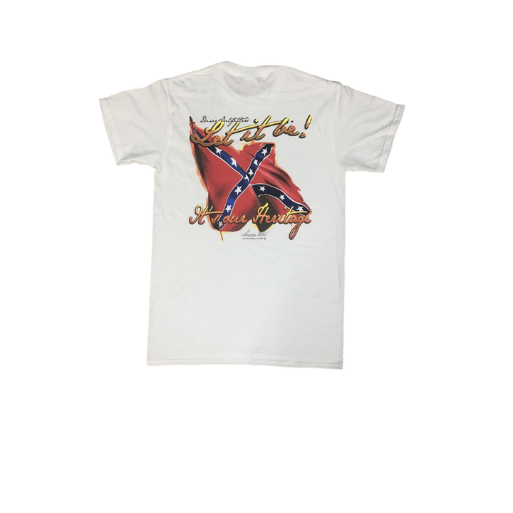 Confederate Flag Let It Be T-Shirt
