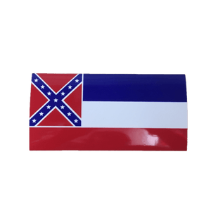 Mississippi State Flag Sticker