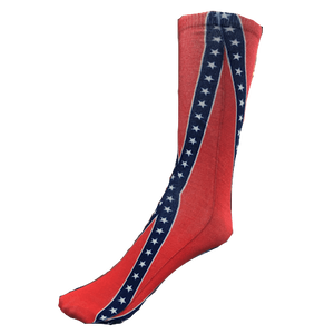 Confederate Flag Socks