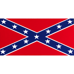 Confederate Flag Sticker (Large)
