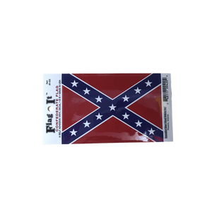 Confederate Flag Sticker (Small)