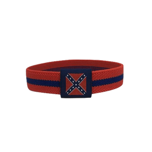 Confederate Flag Stretch Bracelet