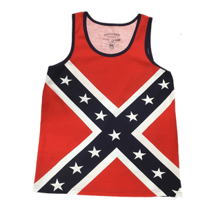 Confederate Flag Tank Top