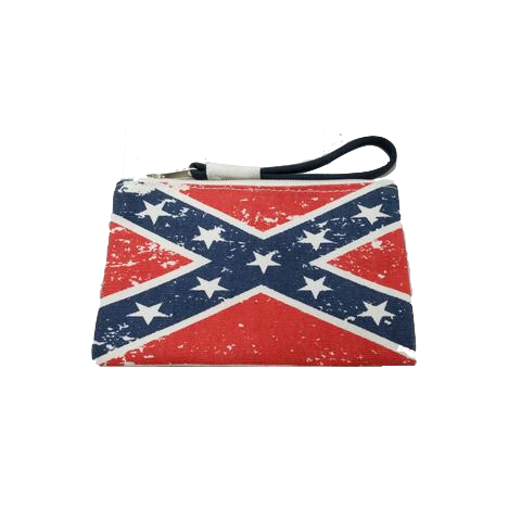Confederate Flag Zip Pouch