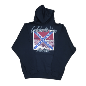 Confederate Lives Matter Hooded Sweatshirt