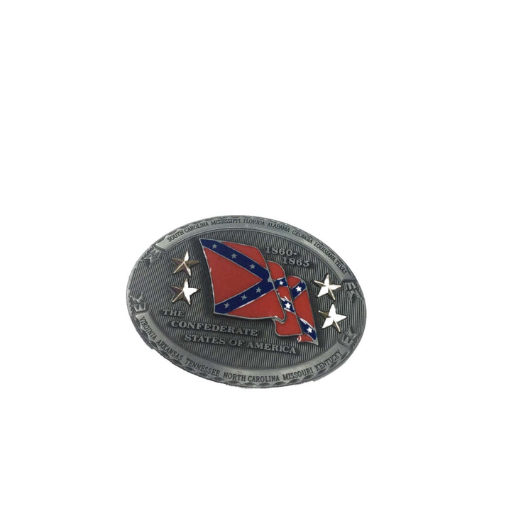 Confederate States of America 1860-1865 Belt Buckle