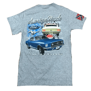 Dixie Ford Mustang Muscle T-Shirt