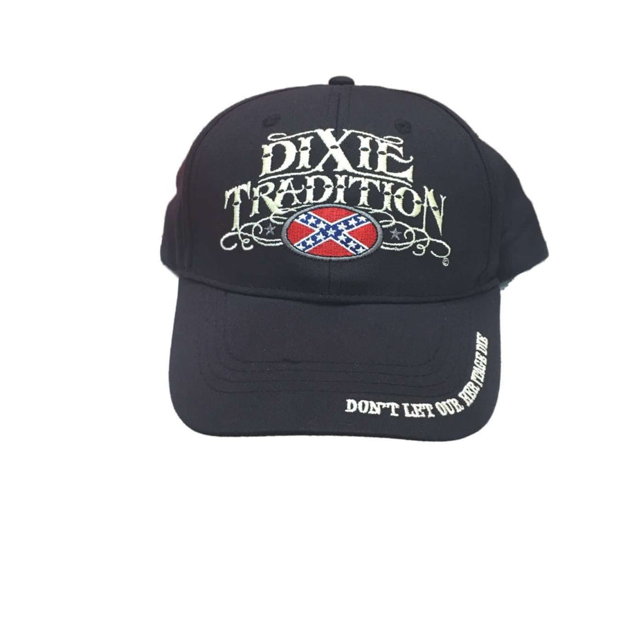 """Dixie Tradition"" Confederate Flag Hat"