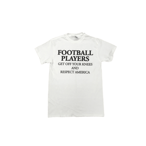 Football Players... Respect America T-Shirt