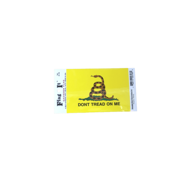 Gadsden Flag Sticker (Small)