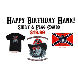 Hank Williams Jr. Birthday Combo
