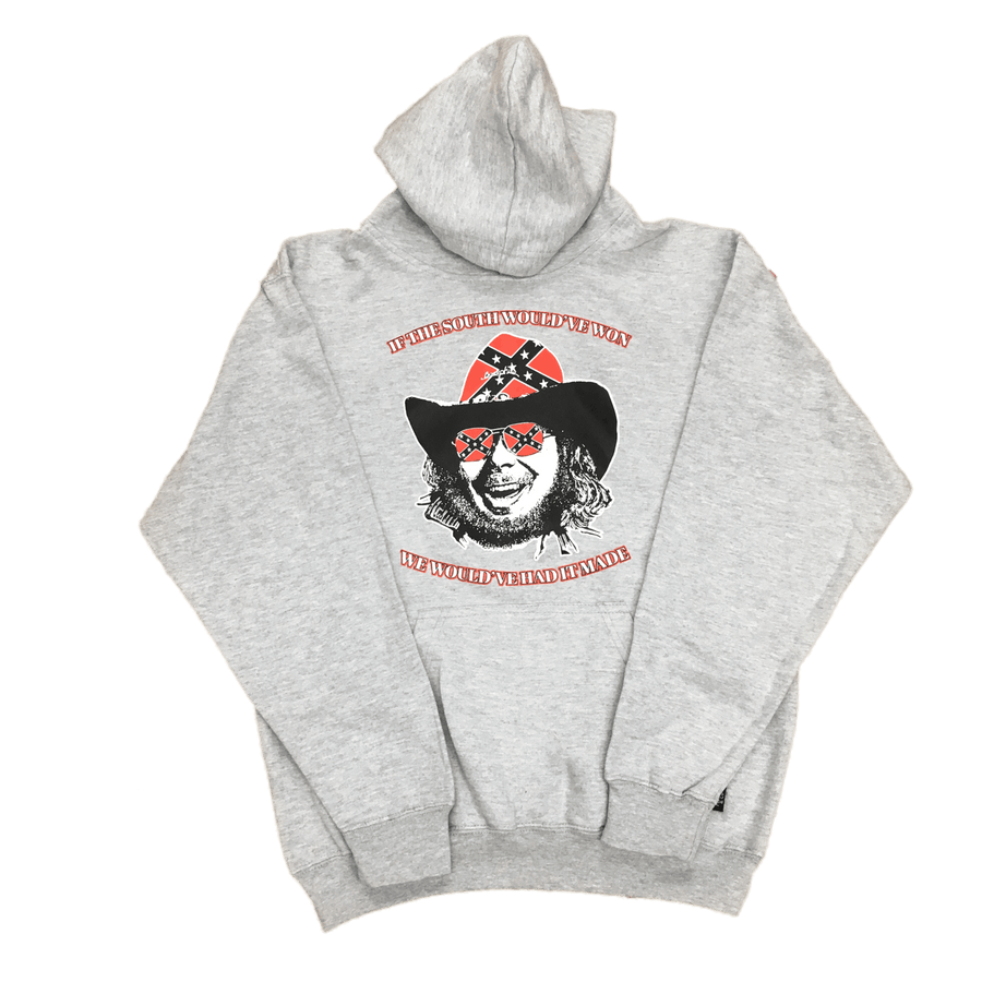 Hank Williams Jr. Confederate Flag Hooded Sweatshirt