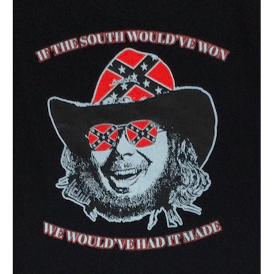 Hank Williams Jr Confederate Flag T-Shirt