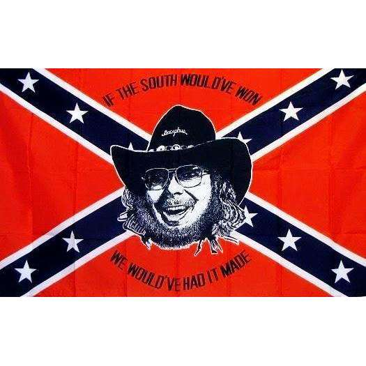 Hank Williams Jr Confederate Flag