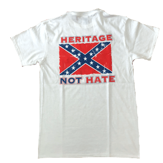 Heritage Not Hate Confederate Flag T-Shirt