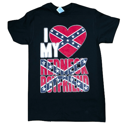 I Love My Redneck Boyfriend T-Shirt