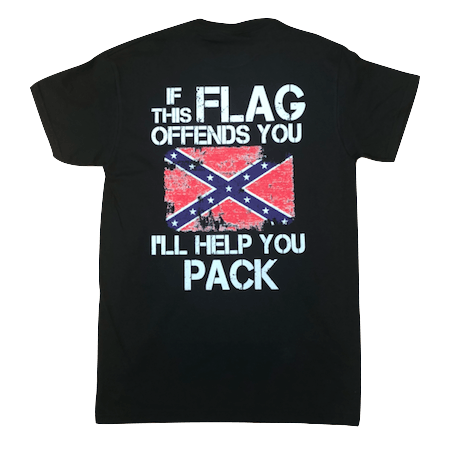 New IF THIS FLAG OFFENDS YOU I/'LL HELP YOU PACK T SHIRT