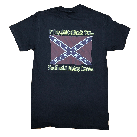 If This Waving Confederate Flag Offends You T-Shirt