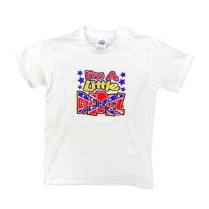 I'm A Little Rebel Confederate Flag T-Shirt (Youth)