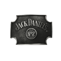 Jack Daniel's Old No. 7 Cut-off Belt Buckle