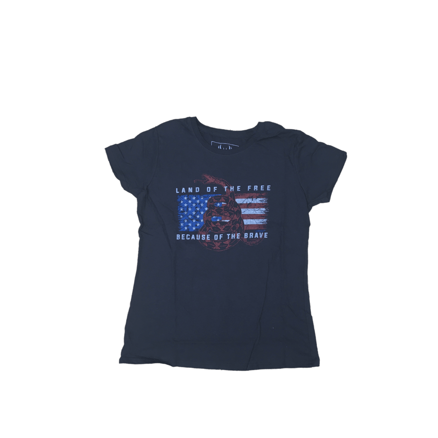 Land Of The Free Gadsden American Flag T-Shirt