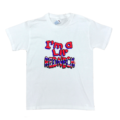 Lil' Redneck Confederate Flag T-Shirt (Youth)