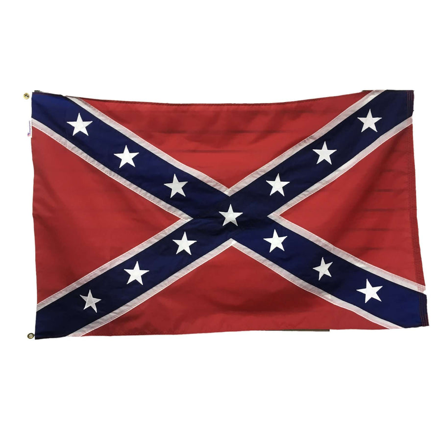 *Made In America* 3'x5' Hand-Sewn Nylon Confederate Flag