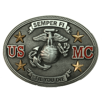 Marine Corps Belt Buckle