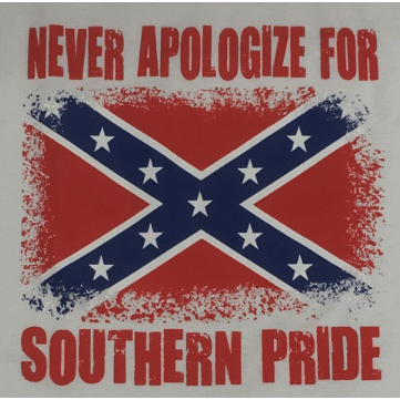 Never Apologize For Southern Pride T-Shirt