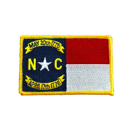 North Carolina State Flag Patch