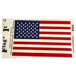 Oversized American Flag Sticker
