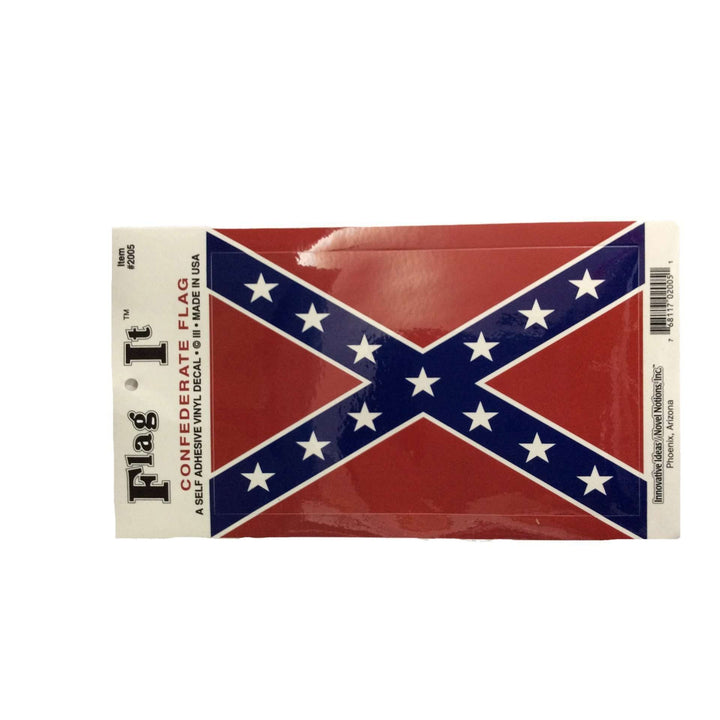 Oversized Confederate Flag Sticker