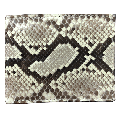 Python Bi-Fold Leather Wallet