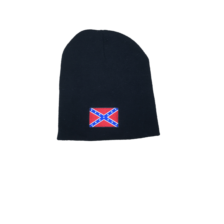 """Rebel"" Confederate Flag Beanie"
